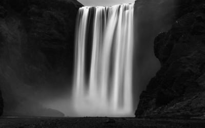 Skógafoss. Islandia.  Mención de honor en el concurso MONOVISIONS PHOTOGRAPHY AWARDS