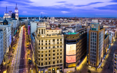 Madrid. Gran Via